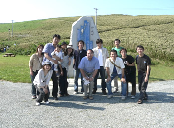 Research team trip (1st year of my master's course)
